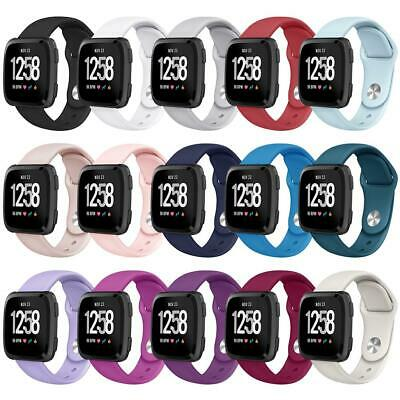 For Fitbit Versa Lite Edition Strap Soft Sports Wrist Band Silicone Replacements