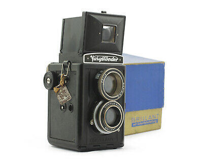 Voigtlander Brillant Vintage TLR Camera with Skopar 3.5/75 mm