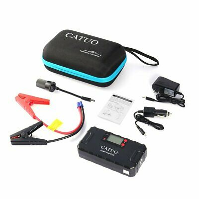 CATUO 13600mAh Auto Car Jump Starter Battery Booster with USB Power Bank JP WR