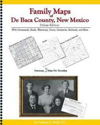 Family Maps of De Baca County, New Mexico Deluxe Edition