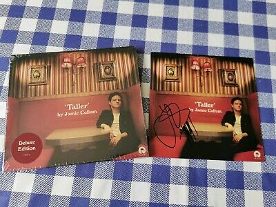 Jamie Cullum - Taller Signed Deluxe CD Album Hand Signed CD Inlay Sleeve
