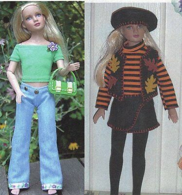 Outdoor Fun Doll Clothes Sewing Pattern Marley /& Viktor Dreary Tonner
