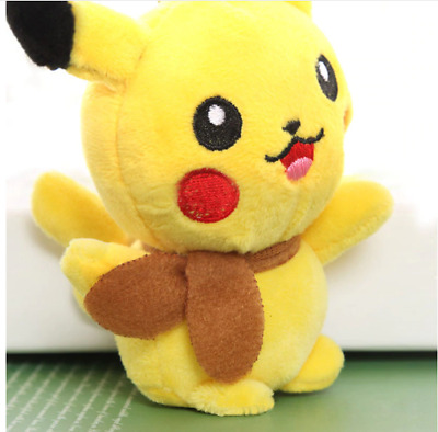 Pokemon Detective Pikachu Plush Doll Stuffed Toy Movie Official Gift 11
