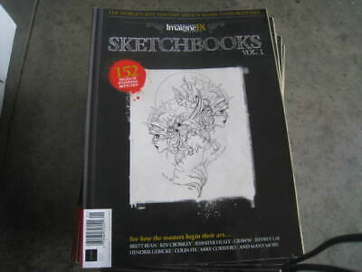 152 PAGES OF STUNNING SKETCH SKETCHBOOKS Volume 1 2019 IMAGINEFX MAGAZINE   New!