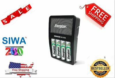 Energizer Rechargeable AA and AAA Battery Charger (Recharge Value)Nice good