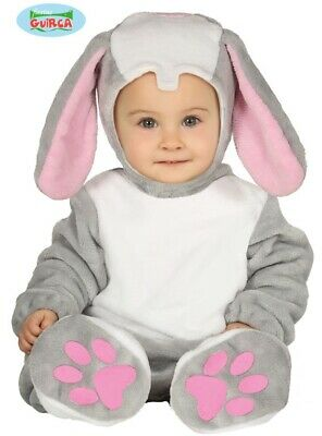 Baby & Toddler Bunny Rabbit Fancy Dress Costume Childrens Childs Animal Suit fg
