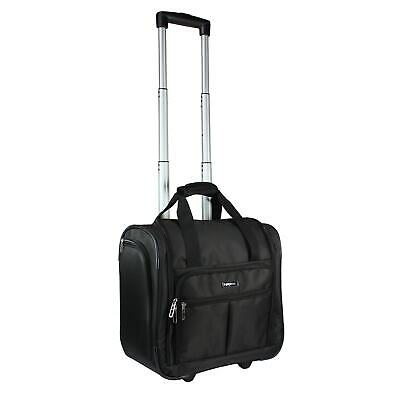9cd4d2e5d World Traveler Deluxe Lightweight 15-Inch Underseat Rolling Carry-On Tote  Bag