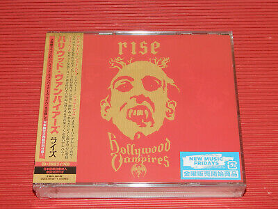 2019 Japan Only 3 Cd Set Hollywood Vampires Rise Cd + Live 2 Cd