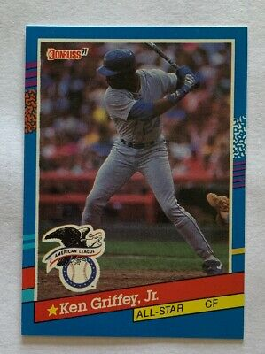 12a56e5162 KEN GRIFFEY JR 2019 Donruss Recollection Collection 1990 Leaf On ...
