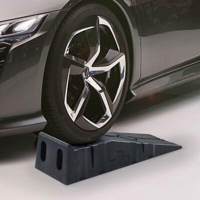Car Lifting Ramps Heavy Duty 2.5 Ton Plastic Automotive Vehicle Garage Cars New