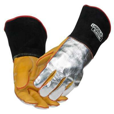 Lincoln Electric K2982 Top Grain Cowhide/Aluminized Welding Gloves X-Large
