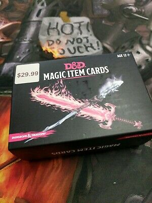 DUNGEONS & DRAGONS D&D 5E 5th Edition: Magic Item Cards (New