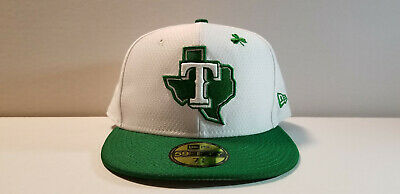 newest 3f3ad 38270 MLB Texas Rangers New Era 2019 St. Patrick s Day 59FIFTY Fitted Cap Hat 7 3