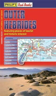 Philip's Outer Hebrides Leisure and Tourist Map 9781849073233   Brand New