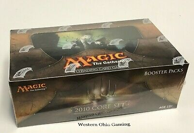 MTG Magic 2010 Booster Box SEALED NEW The Gathering M10 Core Set 36 Packs