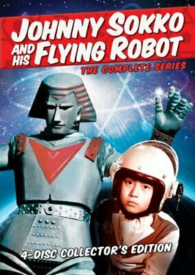 JOHNNY SOKKO AND HIS FLYING ROBOT THE COMPLETE SERIES New Sealed 4 DVD Set