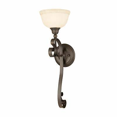 Livex Lighting Manchester 1 Light Imperial Bronze Wall Sconce
