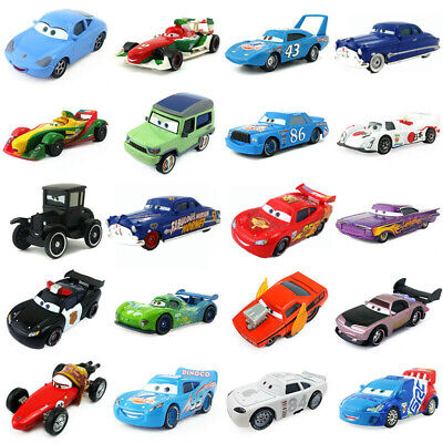 Pixar Cars 2 & 3 McQueen Racing Family Diecast Toy Car 1:55 Loose BirthDay Gifts