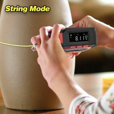 `Measure King 3 In 1 Digital Tape Measure String Sonic Roller Mode Laser Tool EU