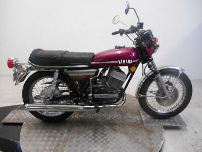 1974 Yamaha RD350A Unregistered US Import Barn Find Classic Restoration Project