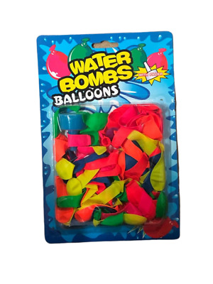 Water Balloons Bombs Multi Colour Kids Summer Party Fun Toys Bag with Fillers
