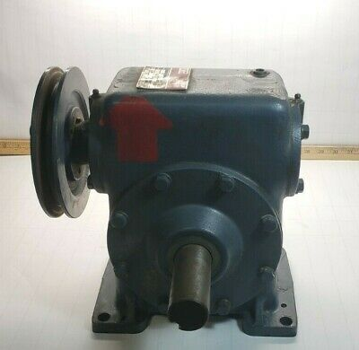 Winsmith Worm Gear Speed Reducer 60:1 Ratio 1.32 Hp 1800 Rpm Input Model 6Ct