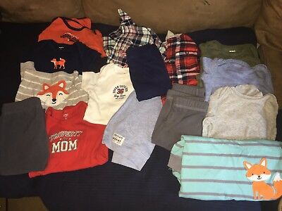 15 piece Carter's boys lot~Size 9 Months~Excellent Condition~Spring / Fall