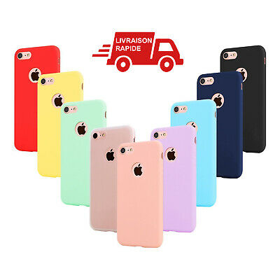 Coque Iphone 8 Protection Silicone Apple Housse Mince