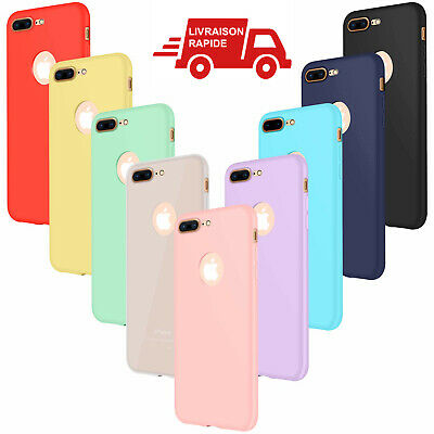 coque iphone xs silicone lot