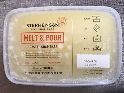 Organic 1kg Melt and Pour Soap Base - SLS and SLES Free - Soap Making and Craft