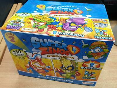 Full Box (50 packets) SuperZings Rivals of Kaboom Series 2 Individual SuperZings