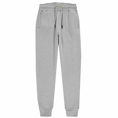 Firetrap Slim Sweatpants Youngster Girls Fleece Jogging Bottoms Trousers Pants