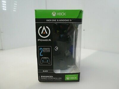 PowerA Enhanced Wired Controller for Xbox One - Black