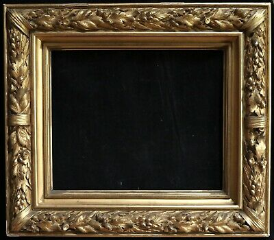 19th CENTURY HUGE FRENCH EXHIBITION GILT ORNATE FRAME FOR 20 x 24 INCH PAINTING