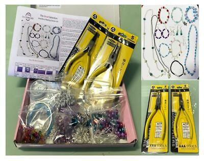 Jewellery Making Kit Beginners Starter Boxed Photo Instructions Beads Findings