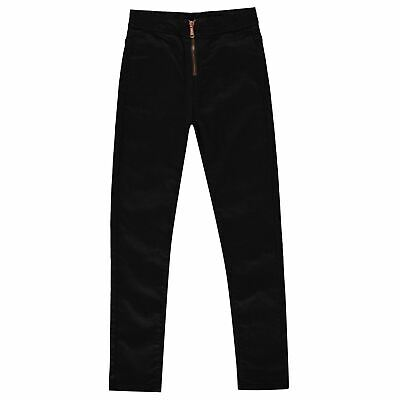 Firetrap High Waisted Zip Jeans Youngster Girls Skinny Pants Trousers Bottoms