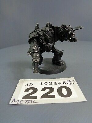 Warhammer 40,000 Chaos Space Marines Metal Obliterator 220