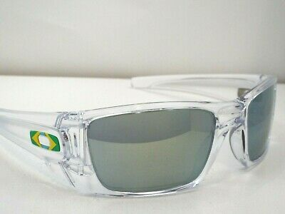 3f22e97b5732 Authentic Oakley OO9096 Fuel Cell Polished Clear Emerald Iridium Sunglasses