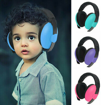 UK Safe Baby Child Ear Defenders Earmuffs Protection 3 months + Kids For Sleep