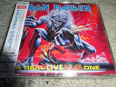 Iron Maiden/'A Real Live Dead One' *Japan 2014 Nw/Sld/Ltd/Dig Remater 2 Cd Set*