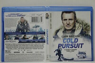 Cold Pursuit (Blu-Ray/DVD,2-Disc,2019) FREE Shipping Liam Neeson No Digital