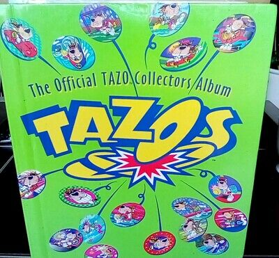 Tazos (1995) Complete No 1-180 with pages.