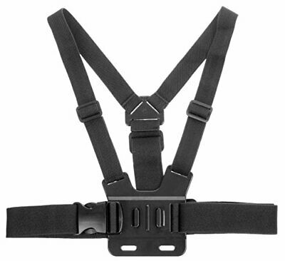 Kitvision Adjustable Chest Strap Mount Harness for Action Cameras Including ,