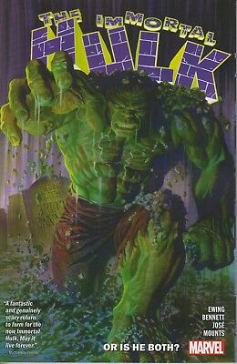 The Immortal Hulk vol 1 Or Is He Both? trade paperback Marvel Comics Ewing