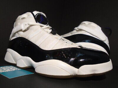 a3df83db03b 2008 Nike Air Jordan 6 Rings Vi Retro White Concord Black Spizike  322992-151 10