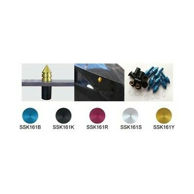 Red SSK161G SSK161Y Keiti Windscreen Screw Kit Spike