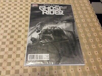 Ghost Rider 1 Gabrielle Dell Otto B&W sketch variant limited to 1500 copies