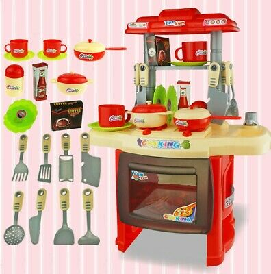 Interesting Kitchen Set For Children's Home Cooking Tableware For Boys and Girls