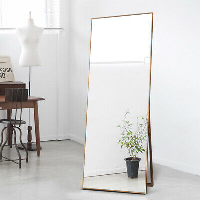 Large Full Length Floor Mirror Leaning Living Bedroom Dressing Gold Mirrors Home