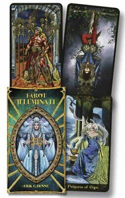 Illuminati Tarot by Kim Huggens and Erik C. Dunne (2017, Cards,Flash Cards)